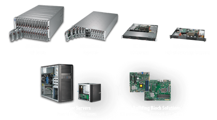 Server Systems Based on Intel® Xeon® E Processors | Super