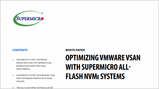 Supermicro® Solutions integrated with VMware Virtual SAN | Super
