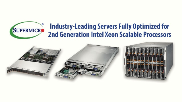 Resource-Saving Systems with 2nd Generation Intel® Xeon® Scalable