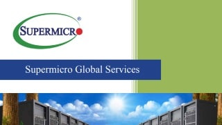 Supermicro Global Services