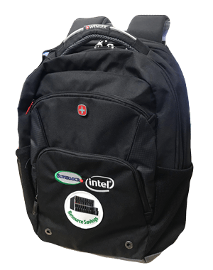 Supermicro backpack