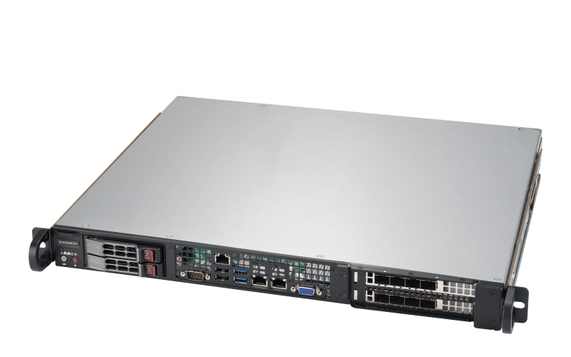 Compact Rackmount 1U Edge Server with 2nd Gen Intel® Xeon® Scalable Processor