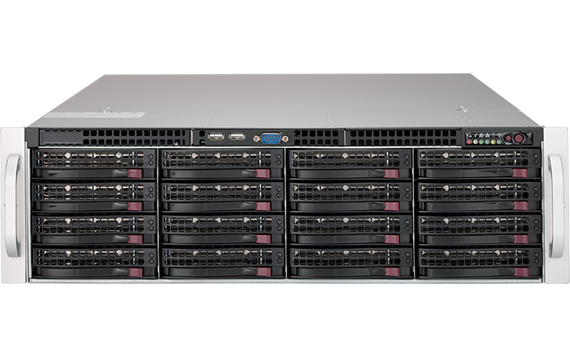 """Rackable Systems 2U Server Chassis Enclosure Rackmount 19/"""""""