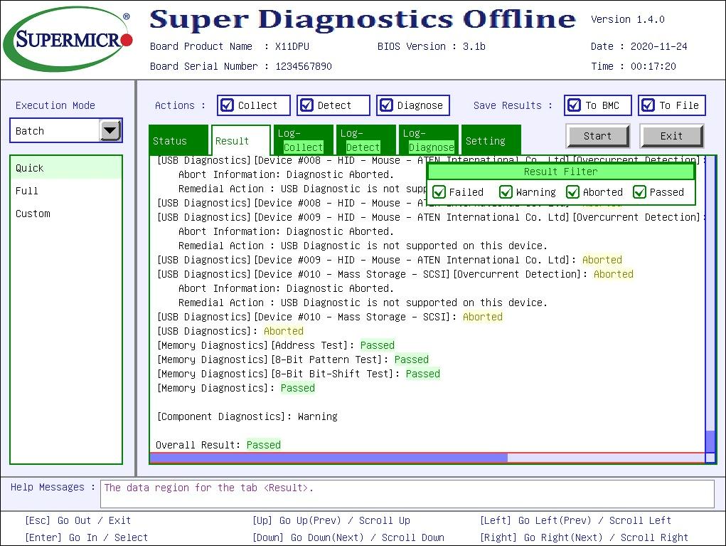 Super Diagnostics Offline Screenshot
